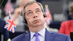 The former UKIP leader is told off by the president of the EU Parliament after a colourful monologue on the bloc's Brexit demands.