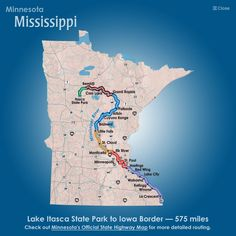 The Great River Road National Scenic Byway begins at Itasca State Park with first City being Bemidji. And it goes through my hometown of Red Wing Mississippi, Minnesota Tourism, Itasca State Park, Crescent Lake, Costa, Little Falls, Canoe Trip, Lake Superior, Lake City