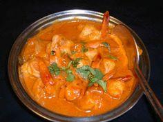 Indian Curry Prawns