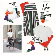 How To Wear NYFW Kate Foley Outfit Idea 2017 - Fashion Trends Ready To Wear For Plus Size, Curvy Women Over 20, 30, 40, 50