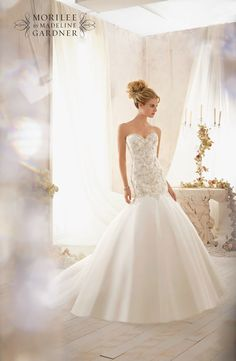 Mori Lee 2606 wedding dress • The latest Mori Lee bridal collection is full of gorgeous sparkly princess gowns