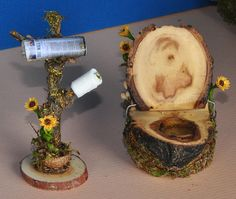 Fairy Toilet with Wall Street Journal by Torisaur, via Flickr