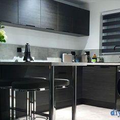 An Innova Cento graphite modern Kitchen Diy Kitchen, Graphite, Modern, Table, Kitchens, Furniture, Design, Home Decor, Graffiti
