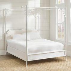 Arbor Bed | Grandin Road Frida Art, Grandin Road, Headboards For Beds, Spring Home, Bed Styling, Florida Home, Inspired Homes, Bed Frame, Bedroom Furniture