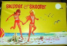 Vintage Skipper and Skooter Case  i love vintage doll cases