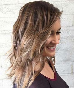 Top Layered Mid Length Hairstyles 2018 That Make You Awesome on Occasions