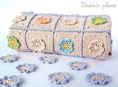 Little flowers baby blanket