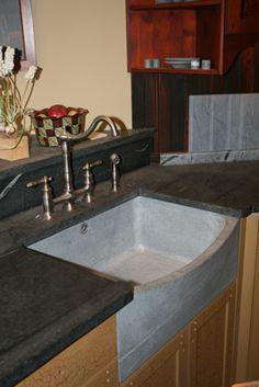 Bucks County Soapstone countertops