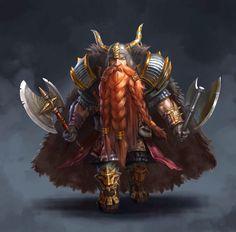 m Dwarf Paladin Hvy Armor Cloak Helm Dual Battle Axe Community Fortress Mountains Underdark eastern border med Fantasy Dwarf, Fantasy Rpg, Medieval Fantasy, Fantasy Races, High Fantasy, Fantasy Warrior, Fantasy Portraits, Character Portraits, Fantasy Artwork