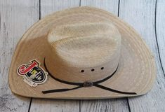 10e7128eb6c7e Justin Milano Hat Co Mens Cowboy Hat Size 6 7 8 Tan 20x Brush Hog   MilanoHatCo