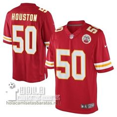 Camisetas Nfl Baratas Houston Kansas City Chiefs  50 Rojo €32.9 Camiseta  Nfl f6051a829ed92