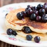 Just in case you missed yesterday's post, white chocolate blueberry pancakes. #saturdaymorningcartoons and #pancakes