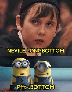 Nelville Longbottom.
