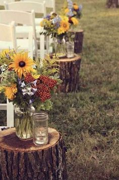 Outdoor Wedding Ideas These super easy DIY wedding decor ideas for the ceremony are so cool!These super easy DIY wedding decor ideas for the ceremony are so cool! Wedding Bells, Diy Wedding, Wedding Ceremony, Dream Wedding, Wedding Day, Wedding Rustic, Trendy Wedding, Outdoor Ceremony, Wedding Simple