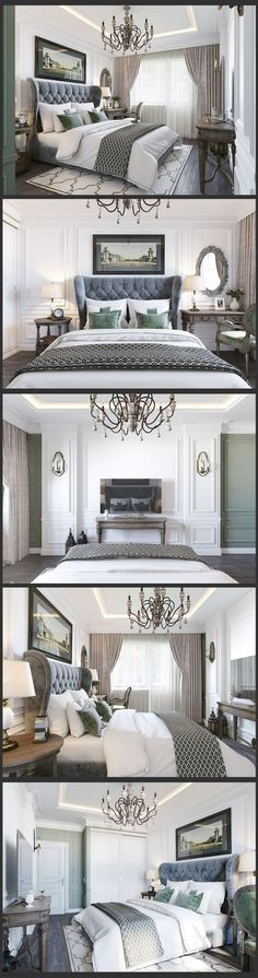 Master Bedroom Wall Moulding