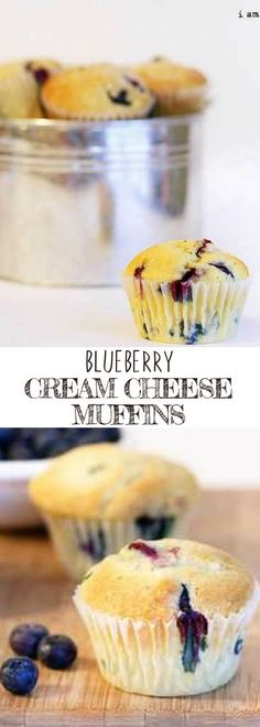 BLUEBERRY CREAM CHEESE MUFFINS | If you're looking for easy muffins recipes, you come to the right pin! You'll surely fall in love this this delicious muffin! For more simple and easy dessert recipes to make, check us out at #iambaker. #blueberry #foodlover #desserts #yummydesserts #recipeoftheday #muffins