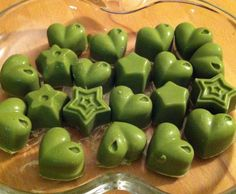 Rezept Matcha Pralinen von Cocomops - Rezept der Kategorie Desserts