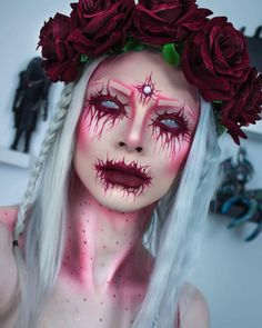 """965 Likes, 67 Comments - Mark Chapman (@zorinblitzz) on Instagram: """" Bleeding Rose QOTD: Would you like to see more Halloween looks? products face:…"""""""