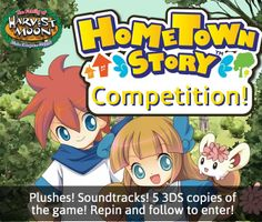 For more ways to enter + T&Cs, click the link! http://www.everybodyplays.co.uk/activity/3DS/Competition-Mega-Hometown-Story-Giveaway/1666