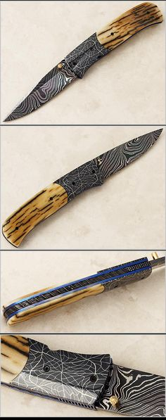 Jeff Chaffee, Mosaic Linerlock, Only Fine Knives