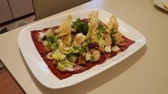 Carpaccio with sea food