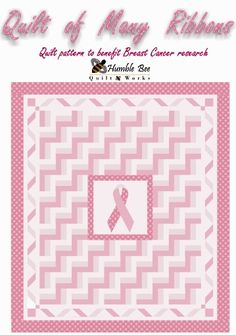 *Free Sew, Quilt, Craft Tutorials*: Free Patterns for Cancer Awareness: Quilts, Ribbons, Quilts, Caps, Pillows, Pouches, and other Projects