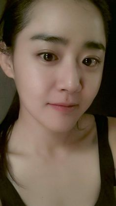 Moon Geun Young Shares A Doe Eyed Selca