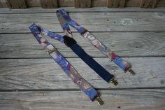 Vintage Floral Suspenders by vintapod on Etsy