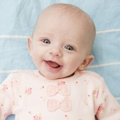 """Ava was born last year with gastroschisis, meaning her intestines were outside of her body. Her mum Kelly says: """"It was such a shock. I was actually born with it myself but it isn't hereditary."""" Read their story on our blog: http://blog.gosh.org/patientsandparents/an-amazing-coincidence/"""