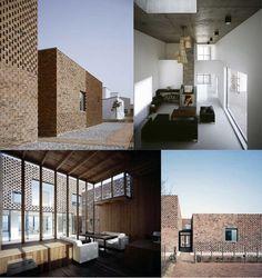 damngoodtaste:    modern brick house - Atelier Zhanglei