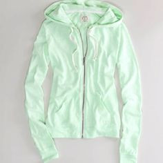 Really cute mint jacket from ae