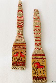 Mezen flok art Russian Tradition