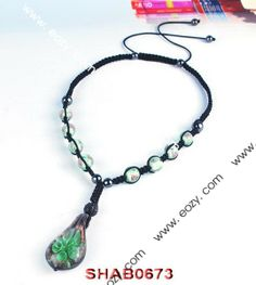 Green Disco Ball Necklace Jewelry Findings with Pendant