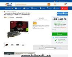 (Megamamute)Galax GTX 1070 EX 8GB por R$ 1.535,20 em até 12x sem juros c/Paypal