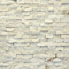 This stone would look great on the modern wall and around the built in grill station. Mosaic stone - modern - 4024 Fauve. Solistone.com