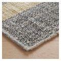 BRECAN Large grey wool rug 170 x 240cm | Buy now at Habitat UK