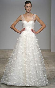 Christos Arabella gown.
