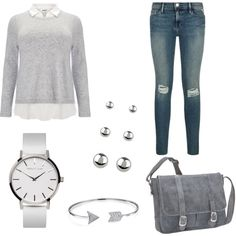 How To Wear Everyday school Look Outfit Idea 2017 - Fashion Trends Ready To Wear For Plus Size, Curvy Women Over 20, 30, 40, 50