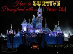 How to Survive Disneyland with a 1 Year Old--Tips and tricks for how to make your trip with your little fun and enjoyable for everyone.