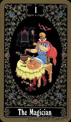 The Magician - Russian Tarot of St. Le Bateleur, Tarot Cards Major Arcana, Le Tarot, Hermitage Museum, Russian Folk, Art Studies, Tarot Decks, Archetypes, The Magicians