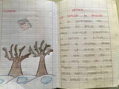 "Quaderno di italiano classe II ""L'inverno "" Bullet Journal, Classroom, School, Blog, Anna, Halloween, Grade 1, Money, Class Room"