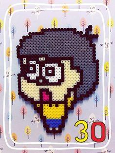 Nobita Doreamon hama perler by Ryoko
