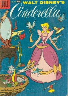 Four Color Series 786 walt disney cinderella comic book cover vintage awesome worth big money Vintage Disney Posters, Retro Disney, Vintage Cartoons, Old Disney, Vintage Comics, Disney Art, Cartoon Wallpaper, Retro Wallpaper, Disney Wallpaper