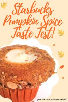 Because is the pumpkin cream cheese muffin worth it? One way to find out!