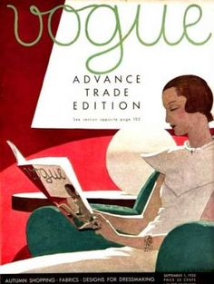 Vintage Vogue magazine covers - mylusciouslife.com - Vintage Vogue covers17.jpg