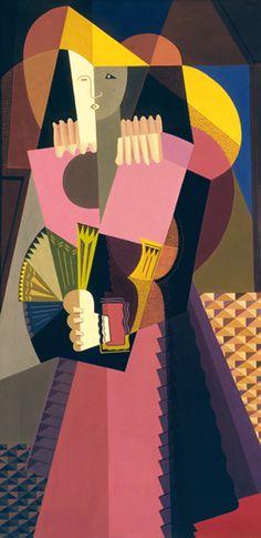 Emilio Petorutti 1925 avante garde movement of the Cubist Artists, Cubist Paintings, Contemporary Paintings, Art Pop, Abstract Art Images, Francis Picabia, Arte Online, Georges Braque, Sculpture Art