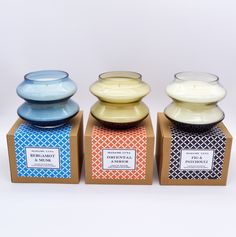 #madameluna #lunac #designerglass #scentedcandles #gift #candles #colourful Essential Oil Blends, Essential Oils, Paraffin Wax, Candle Making, Scented Candles, Fragrance, Glass, Making Candles, Drinkware