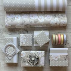 Jane Means Gift Wrap and Ribbons
