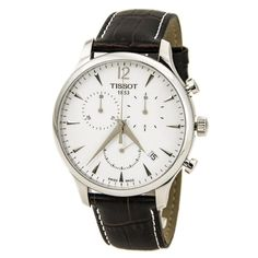 Tissot Men Watches : Tissot T Classic Tradition Chronograph Silver Dial Mens Watch T0636171603700