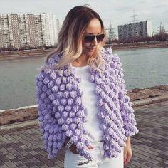 ВСЕ В АЖУРЕ. Вязание Crochet Jumper, Crochet Yarn, Knit Cardigan Outfit, Crop Top Pattern, Summer Knitting, Crochet Woman, Knit Picks, Knit Fashion, Knitting Designs